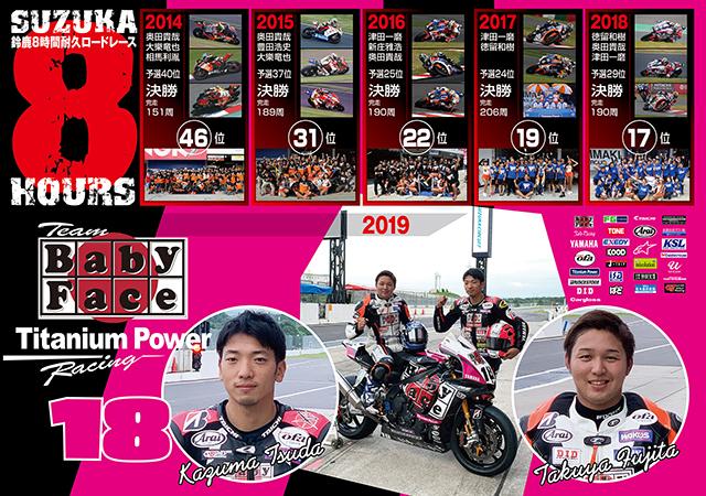 鈴鹿8耐2019レーサー 20