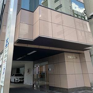 オーファ名古屋営業所エントランス