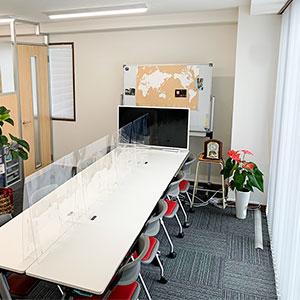 オーファ名古屋営業所会議スペース